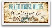 8x20 Beach House Welcome