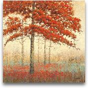 Autumn Trees II - 18x18