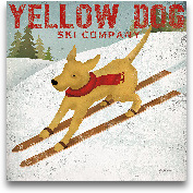 Yellow Dog Ski Co. -...<span>Yellow Dog Ski Co. - 27x27</span>