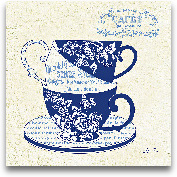 Blue Cups III