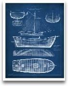 Antique Ship Bluepri...<span>Antique Ship Blueprint II</span>