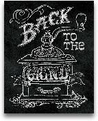 Back To The Grind No...<span>Back To The Grind No Border - 8x10</span>