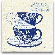 Blue Cups III - 12x12