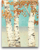 Golden Birches II - ...<span>Golden Birches II - 22x28</span>
