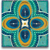 Proud As A Peacock T...<span>Proud As A Peacock Tile IV - 12x12</span>