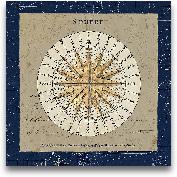 Sphere Compass Blue ...<span>Sphere Compass Blue - 18x18</span>