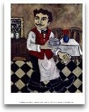 French Waiter IV