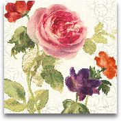 Watercolor Floral IV...<span>Watercolor Floral IV - 18x18</span>