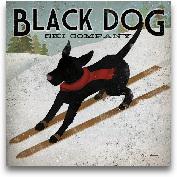 Black Dog Ski Co. 12x12