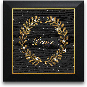 12x12 Gold Peace Fra...<span>12x12 Gold Peace Framed Art</span>