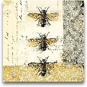 Golden Bees N Butter...<span>Golden Bees N Butterflies No. 1 - 12x12</span>