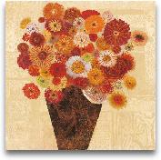 Bold Bouquet I 24x24