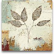 Silver Leaves III - ...<span>Silver Leaves III - 12x12</span>