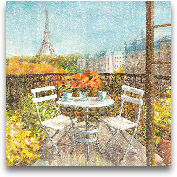 September In Paris C...<span>September In Paris Crop - 18x18</span>
