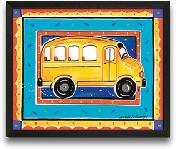 School Bus 10x8