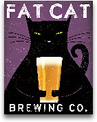 Cat Brewing No City ...<span>Cat Brewing No City - 11x14</span>