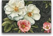 Floral Damask I  - 36x24