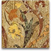 Floral Fragment IV 12x12