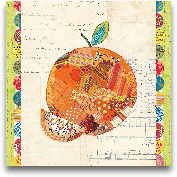 Fruit Collage IV - O...<span>Fruit Collage IV - Orange 12x12</span>