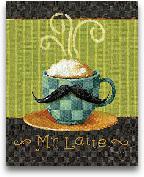 Cafe Moustache VI - 8x10