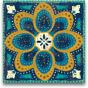 Proud As A Peacock T...<span>Proud As A Peacock Tile I - 12x12</span>