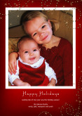 5x7 Card: Holiday Sparkle