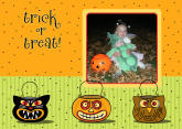 5x7 Card: Trick Or Treat