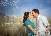 5x7 Save The Date - Lace