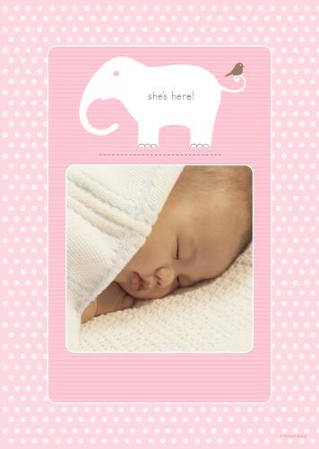5x7 Card: She