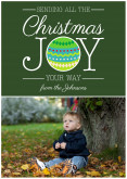 Christmas Joy - Green