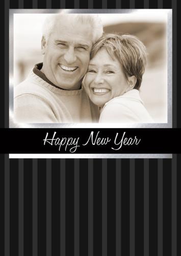 5x7 Card: Happy New Year