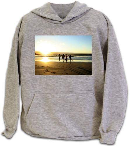 Ash Heather Hooded Sweatshirt - XLarge