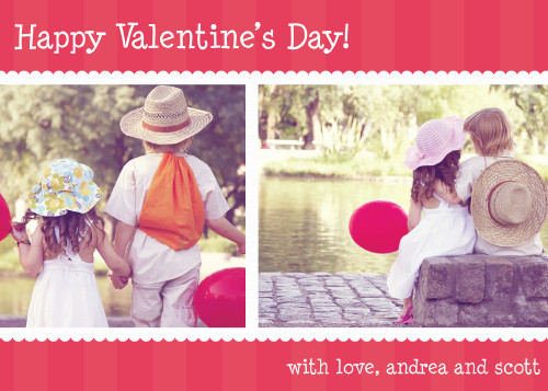 5x7 Card: Happy Valentine