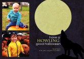 5x7 Card: Howling Halloween