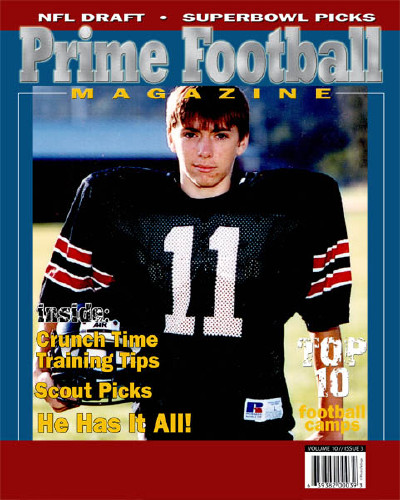 "8x10 ""Prime Football"""