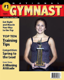 """8x10 """"National Gymnast"""" Cover"""