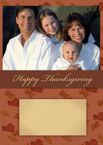 5x7 Card: Happy Thanksgiving