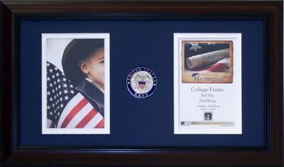 American Moments - Navy 8x15