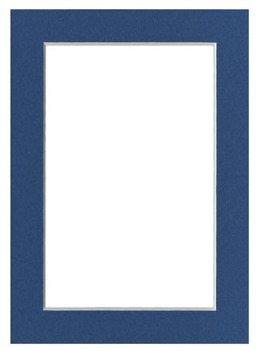 Blue 5x7