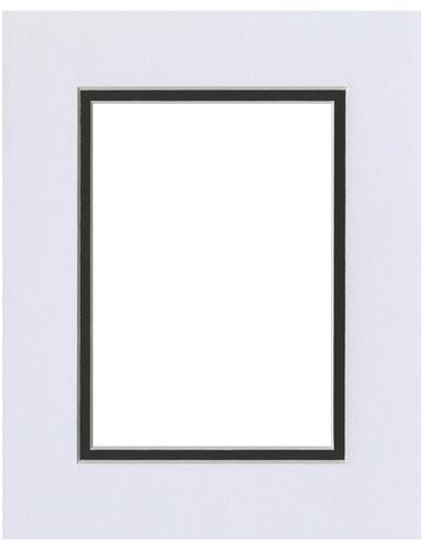 White/Black 8x10