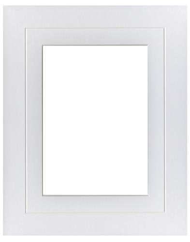White V Groove 8x10