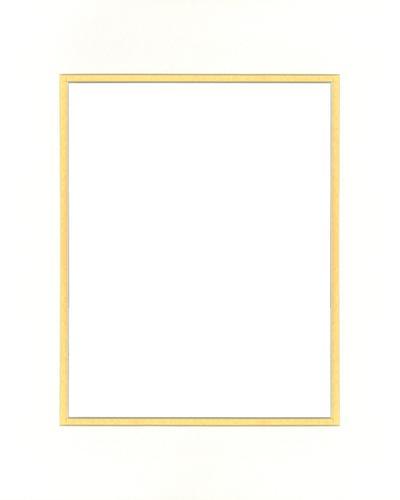 White/Gold 16x20