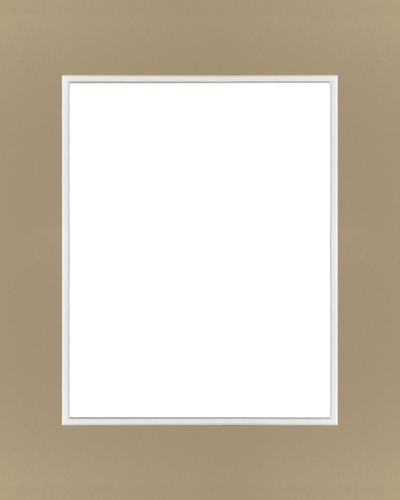 Tan/White 16x20