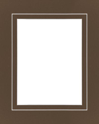 Chocolate V Groove 16x20