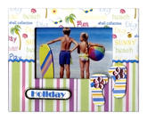 Scrapbook Magnet - Holiday