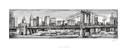 Pen & Ink Cityscape I