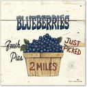 Blueberries Just Picked-6x6