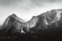 Sun and Snow - Bridalveil Fall - 36x24