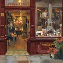 Parisian Shoppe II - 18x18