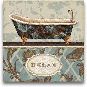 Bathroom Bliss I 10x10